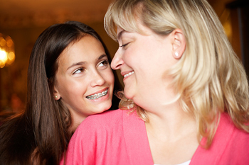 Girl with Braces - Pediatric Dentist and Orthodontist in Roslyn Heights & East Hills, NY